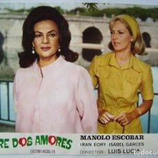 Cine: MANOLO ESCOBAR, ENTRE DOS AMORES. UN FOTOCROMO.. Lote 62232008