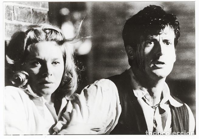 Cine: 2 Fotos de F.I.S.T., con Silvestre Stallone y Melinda Dillon (1978), copias vintage - Foto 2 - 62336944