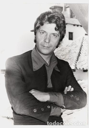 Cine: Sancho Gracia – 2 fotos de 'Curro Jiménez' 1978 - Copias vintage - Foto 2 - 62370836