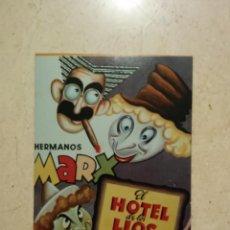 Cine: FOTO 9*13 - EL HOTEL DE LOS LIOS - FND - LOS HERMANOS MARX. Lote 101111914
