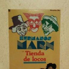 Cine: FOTO 9*13 - TIENDA DE LOCOS - LOS HERMANOS MARX. Lote 101111928