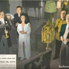 Cinema: LAS SIETE VIDAS DEL GATO JUANJO MENENDEZ PATTY SHEPPARD OZORES FOTOCROMO ORIGINAL Q. Lote 63552224