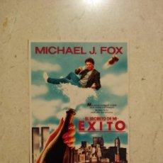 Cine: FOTO 9*13 - EL SECRETO DE MI EXITO - MICHAEL J FOX - COMEDIA 80S. Lote 101111984