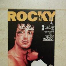 Cine: TARJETA 10*15 - ROCKY - SYLVESTER STALLONE - BOXEO. Lote 101112036