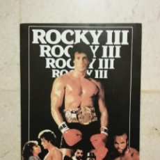 Cine: TARJETA 10*15 - ROCKY 3 - SYLVESTER STALLONE - BOXEO. Lote 101112000