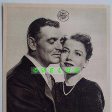 Cine: LA RIVAL: 12 FOTOS ORIGINALES+TITULO+SOBRE. ESTRENO 1949. Lote 33734688