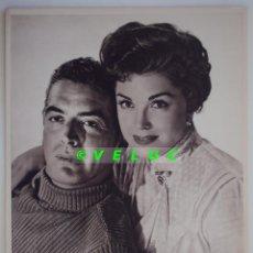 Cine: LA PRIMERA SIRENA: 12 FOTOS +TITULO+SOBRE. ESTRENO 1954. ESTHER WILLIAMS Y VICTOR MATURE.. Lote 39982393