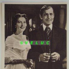 Cine: ESTRELLA DEL DESTINO: 12 FOTOS +TITULO+SOBRE. ESTRENO 1952. AVA GARDNER Y CLARK GABLE.. Lote 39841448