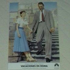 Cine: FOTO PELICULA VACACIONES EN ROMA . Lote 65433019