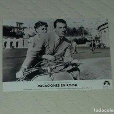 Cine: FOTO PELICULA VACACIONES EN ROMA . Lote 65433407