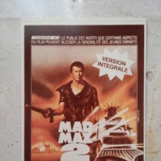 Cine: FOTO 9*13 - MAD MAX 2 - MEL GIBSON . Lote 65814990