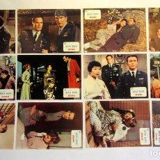 Cine: SAYONARA. MARLON BRANDO (1957) LOTE DE 12 FOTOCROMOS ORIGINALES. NUEVOS. Lote 66008374