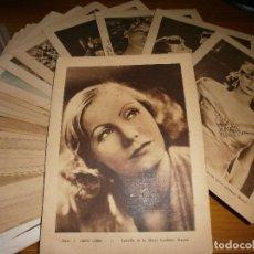 Cine: LOTE 76 ESTAMPAS DE CINE - PELÍCULAS AÑOS 30 - EDITORIAL GRÁFICA - 1931. Lote 66107558