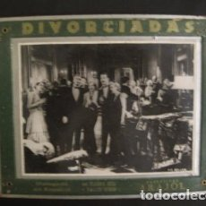 Cine: DIVORCIADAS - FOTOCROMO DE CARTON ANTIGUO- ARAJOL - VER FOTOS - (V-7448). Lote 66445758
