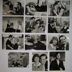 Cine: EL PRÓXIMO AÑO A LA MISMA HORA (1978)12 FOTOS B/N 18X24 ELLEN BURSTYN, ALAN ALDA COLECCIONISMO. Lote 66903038