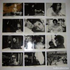 Cine: CECILIA (CUBA, 1982)LOTE DE 12 FOTOS B/N 24X18 DAISY GRANADOS, IMANOL ARIAS, RAQUEL REVUELTA WARNER. Lote 66903902
