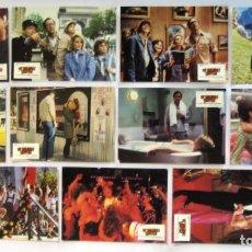 Cine: LAS VACACIONES EUROPEAS DE UNA CHIFLADA FAMILIA AMERICANA LOTE DE 11 FOTOCROMOS ORIGINALES 24X34 . Lote 67002942
