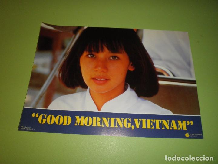 Cine: LOTE 12 FOTOCROMOS GOOD MORNING VIETNAM BARRY LEVINSON ROBIN WILLIAMS FOREST WHITAKER FOTOCROMO CINE - Foto 10 - 67164673