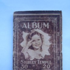Cine: ALBUM SHIRLEY TEMPLE Nº 1 30 FOTOGRAFIAS. Lote 67595085