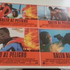 Cine: FOTOCROMOS ORIGINALES- SALTO AL PELIGRO - WESLEY SNIPES - JUEGO COMPLETO. Lote 67822921