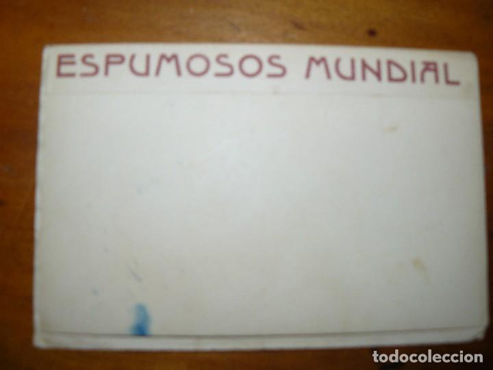 Cine: ESPUMOSOS MUNDIAL - DIPTICO PUBLICITARIO CON POSTAL DE ACTRIZ O ACTOR DE CINE - Foto 4 - 67856285