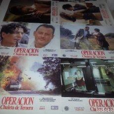 Cine: FOTOCROMOS ORIGINALES- OPERACION CHULETA DE TERNERA - JUEGO COMPLETO. Lote 68011129