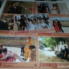 Cine: FOTOCROMOS - CARMEN DE BIZET. Lote 68019757
