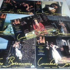 Cine: FOTOCROMOS - CUMBRES BORRASCOSAS - JULIETTE BINOCHE. Lote 68019997