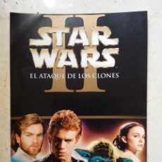 Cinéma: TARJETA ORIGINAL 10*15 - EPISODIO 2 EL ATAQUE DE LOS CLONES - STAR WARS . Lote 142826029