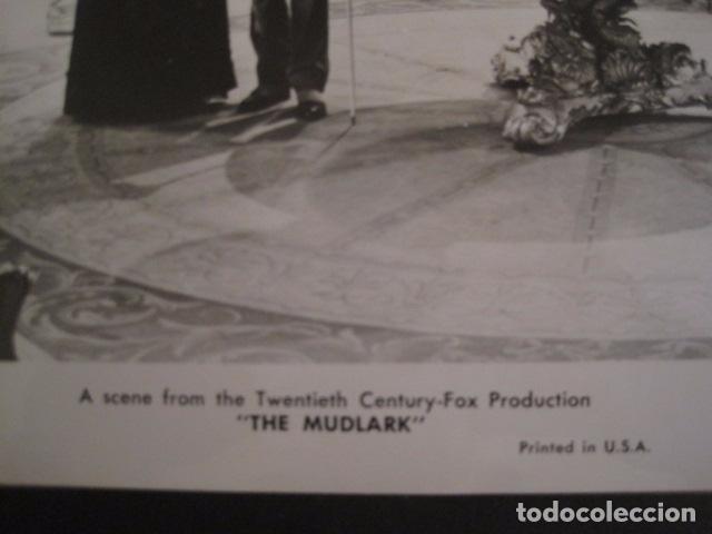 Cine: THE MUDLARK - FOTOGRAFIA ESCENA PELICULA-20 TH. FOX -IRENE DUNN -MIDE 20X25 CM-(V-7750-ESCOJER FOTO) - Foto 2 - 68680421