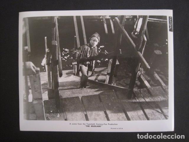 THE MUDLARK - FOTOGRAFIA ESCENA PELICULA-20 TH. FOX -IRENE DUNN -MIDE 20X25 CM-(V-7750-ESCOJER FOTO) (Cine - Fotos, Fotocromos y Postales de Películas)