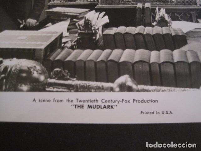 Cine: THE MUDLARK - FOTOGRAFIA ESCENA PELICULA-20 TH. FOX -IRENE DUNN -MIDE 20X25 CM-(V-7750-ESCOJER FOTO) - Foto 2 - 68682033