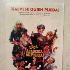 Cine: FOTO 9*13 - LOCA ACADEMIA DE POLICIA 3 - POLICIA - COMEDIA 80. Lote 101112026