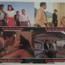 Cine: FOTOCROMOS - EL AIRE DE UN CRIMEN 1988 - PACO RABAL - MARIBEL VERDÚ - CINE ESPAÑOL. Lote 68740185