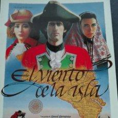 Cine: EL VIENTO DE LA ISLA. Lote 71074303
