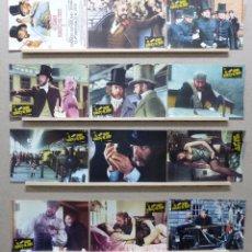 Cine: EL GRAN ASALTO AL TREN - SEAN CONNERY, DONALD SUTHERLAND - SET COMPLETO 12 FOTOCROMOS. Lote 221653863
