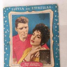 Cine: BURT LANCASTER Y GINA LOLLOBRIGIDA ** AÑOS 50** COLECCIÓN LLUVIA DE ESTRELLAS Nº 878. Lote 71803167