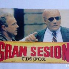 Cine: GRAN SESSION CBS-FOX ALIEN NACION-EL GRAN AZUL INCLUYE 1 FOTOCROMO Y CARÁTULA DE CADA PELÍCULA. Lote 71812935