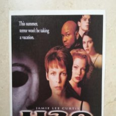 Cine: FICHA COLECCIONABLE 10*15 - HALLOWEEN H2O - JAMIE LEE CURTIS - TERROR. Lote 72430511