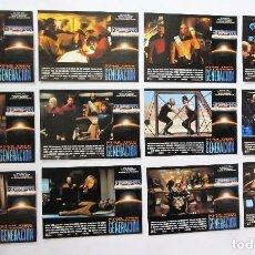 Cine: STAR TREK. LA PRÓXIMA GENERACIÓN LOTE COMPLETO DE 12 FOTOCROMOS ORIGINALES NUEVOS. Lote 73799391