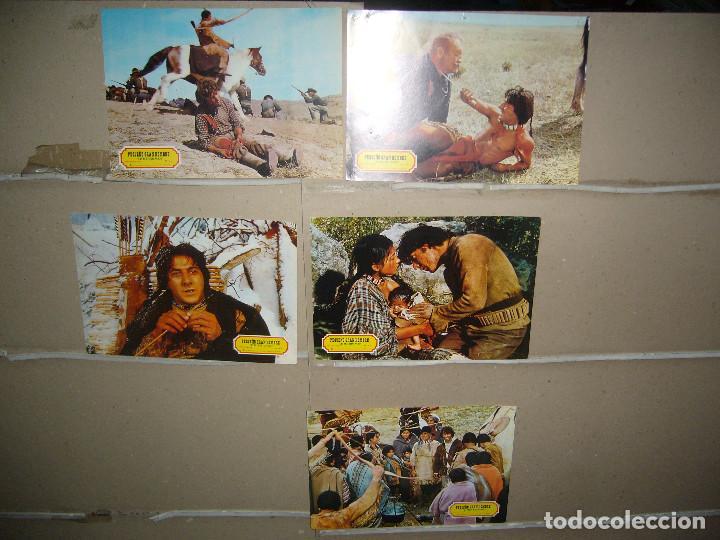 PEQUEÑO GRAN HOMBRE DUSTIN HOFFMAN 8 FOTOCROMOS ORIGINALES Q (Cine - Fotos, Fotocromos y Postales de Películas)