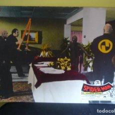 Cine: SPIDERMAN EL HOMBRE ARAÑA NICHOLAS HAMMOND MARVEL FOTOCROMO ORIGINAL EN CARTON Q. Lote 76579259