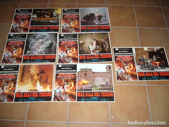 MAS ALLA DEL TERROR CINE ESPAÑOL DE TERROR TOMAS AZNAR 7 FOTOCROMOS ORIGINALES GRANDES (Cine - Fotos, Fotocromos y Postales de Películas)