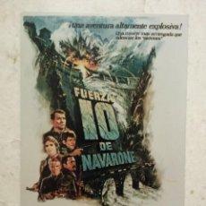 Cine: FOTO 10*15 - FUERZA 10 DE NAVARONE - HARRISON FORD - CINE BELICO - GUERRA. Lote 76730019