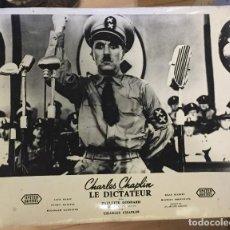 Cine: CHARLIE CHAPLIN EL GRAN DICTADOR 1. Lote 77238725