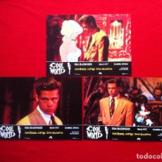 Cine: LOTE 3 FOTOCROMOS COOL WORLD LOBBY CARDS. Lote 77524661