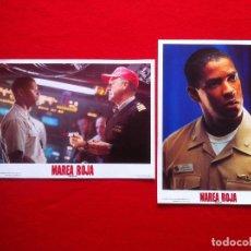 Cine: LOTE 2 FOTOCROMOS MAREA ROJA LOBBY CARDS ¡¡¡ARTICULO COMPRA MINIMA 8 EUROS!!! . Lote 77530833