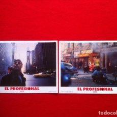 Cine: LOTE 2 FOTOCROMOS EL PROFESIONAL LOBBY CARDS ¡¡¡ARTICULO COMPRA MINIMA 8 EUROS!!! . Lote 77530909