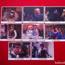Cine: LOTE 8 FOTOCROMOS LA PEQUEÑA TIENDA DE LOS HORRORES LOBBY CARD CARTON-CARTULINA EDICION USA. Lote 78190225