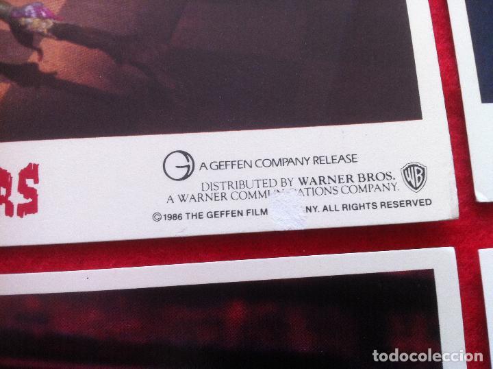 Cine: Lote 8 fotocromos LA PEQUEÑA TIENDA DE LOS HORRORES lobby card CARTON-CARTULINA EDICION USA - Foto 2 - 78190225